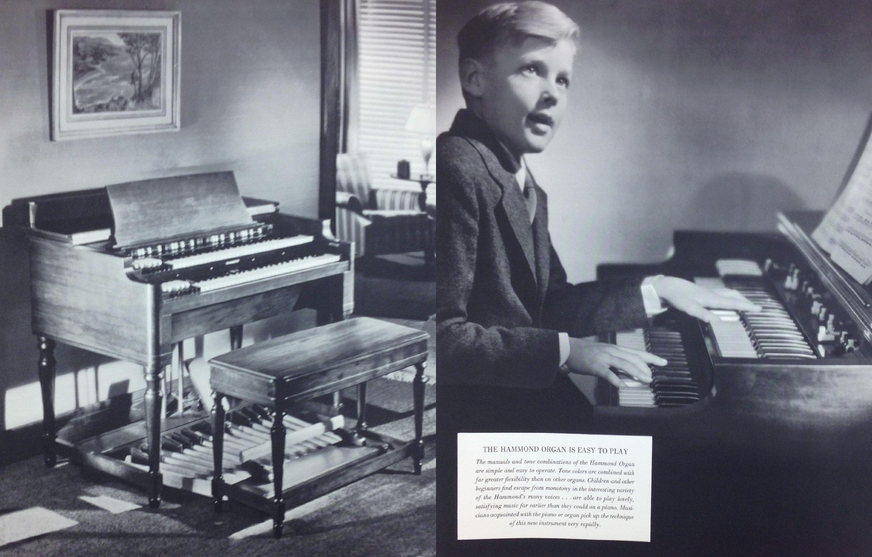 Hammond Brochure c. 1937