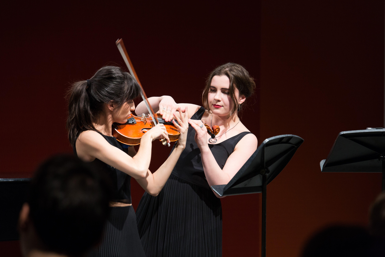 Amber Evans + Lena Vidulich