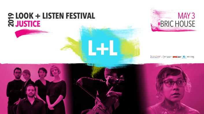 event image for 2019 LOOK + LISTEN FESTIVAL: Seth Parker Woods, TAK Ensemble, Angélica Negrón