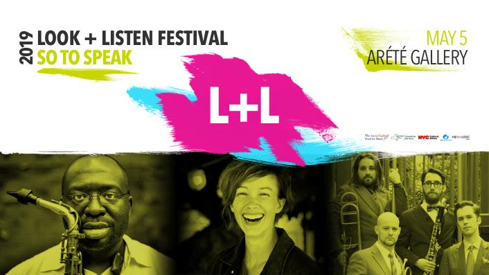 event image for 2019 LOOK + LISTEN FESTIVAL: Loadbang, Majel Connery, Darius Jones