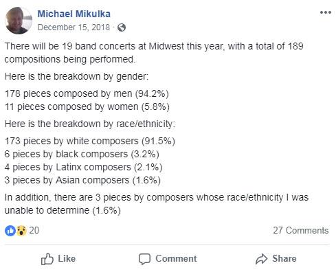 Michael Mikulka: Midwest Clinic