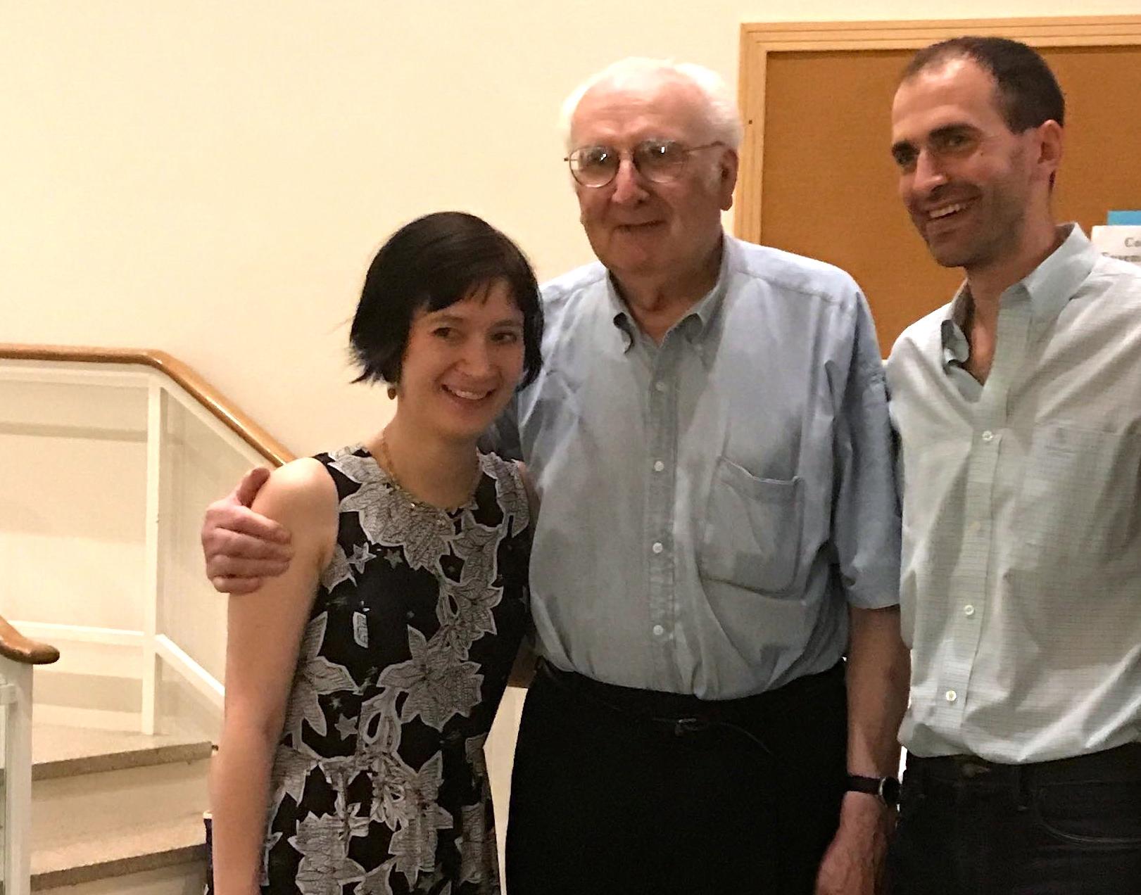 Miranda Cuckson, Mario Davidovsky, and Diego Tedesco