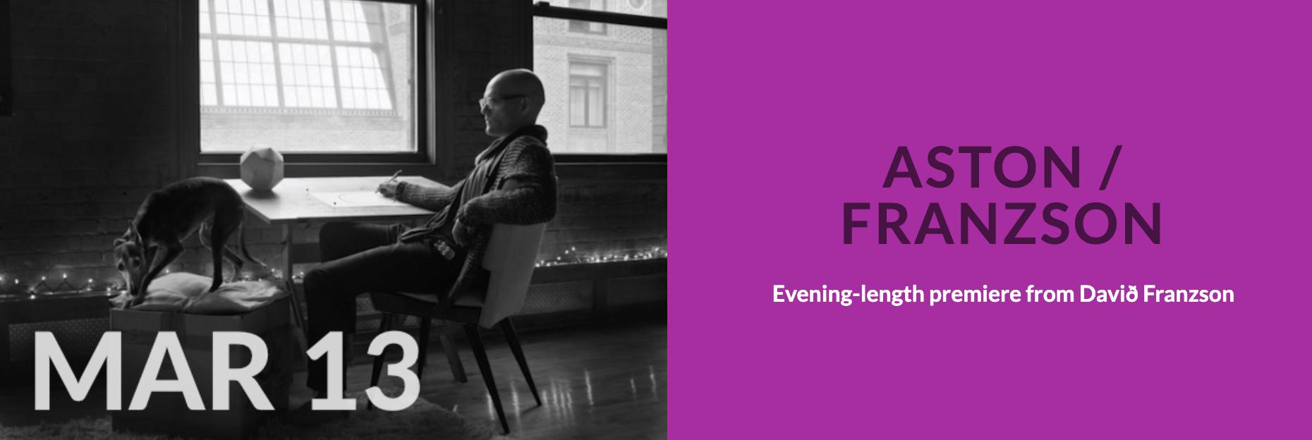 event image for wasteLAnd – Aston / Franzson