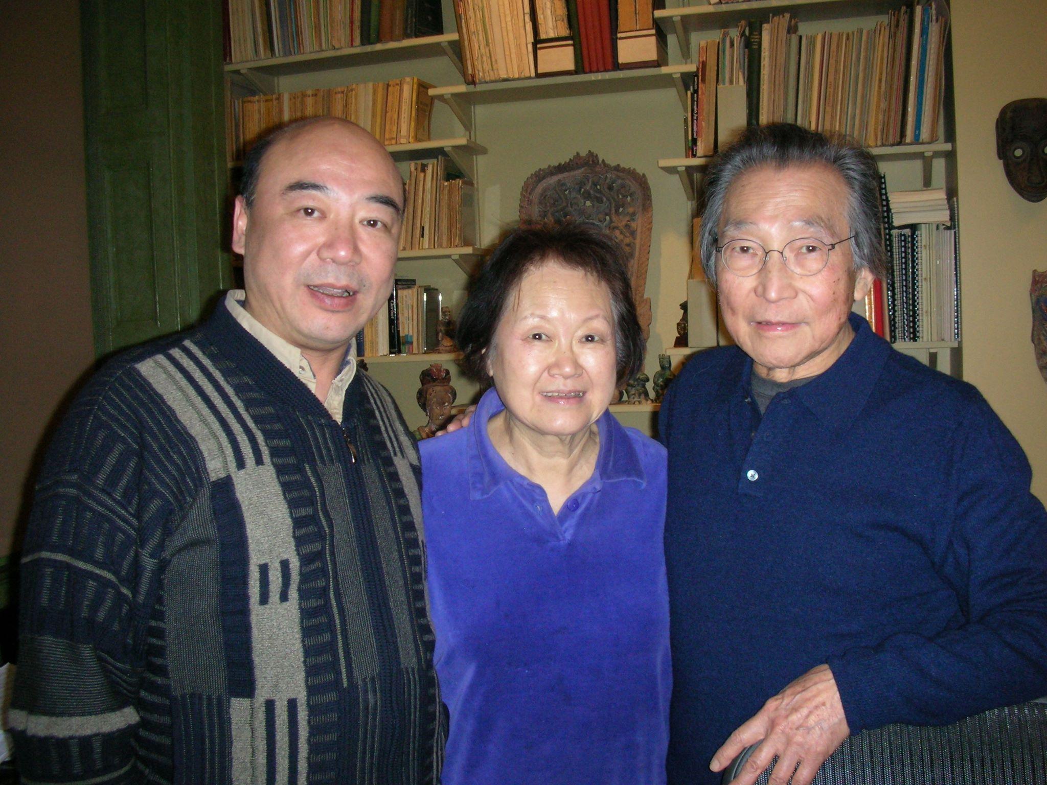 Zhou Long, Chang Yi-An and Chou Wen-chung